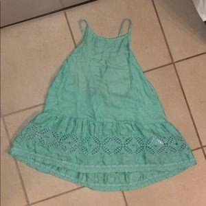 Crossback lace cami